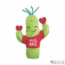 FUN EXPRESS Valentine Plush Cactus