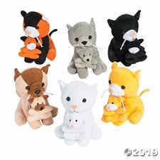 FUN EXPRESS Plush Cats Holding Kittens
