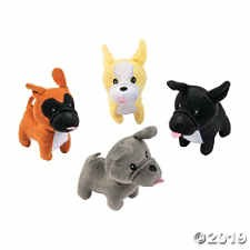 FUN EXPRESS Plush French Bulldogs (asst)
