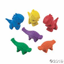 Shaped Dinosaur Crayons (24 pc)