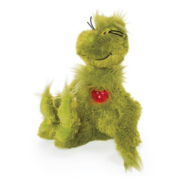 Dr. Seuss Grinch With Light Up Heart