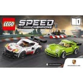 LEGO: Porsche 911 RSR and 911 Turbo 3.0