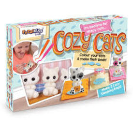 FUZZIKINS:  COZY CATS
