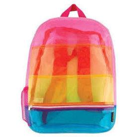 FASHION ANGELS: Transparent Rainbow Micro-Mini Backpack