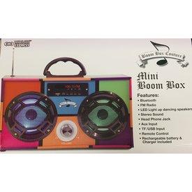 WIRELESS EXPRESS MINI BOOM BOX BLEUTOOTH SPEAKER - RETRO 90S