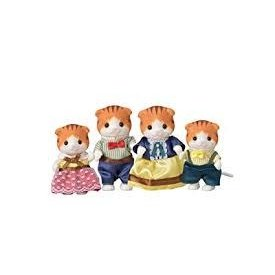 Calico Critters CALICO CRITTERS:  Maple Cat Family
