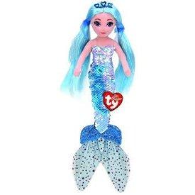 TY:  INDIGO - sequin aqua mermaid med
