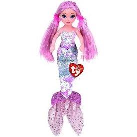 TY:  CORA - sequin pink mermaid med