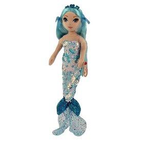 TY:  INDIGO - sequin aqua mermaid reg