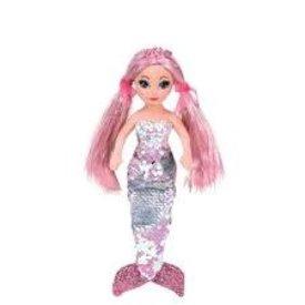 TY:  CORA - sequin pink mermaid reg