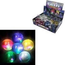 """2.5"""" Galaxy light ball(1 OF ASST)"""