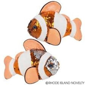 "10"" Sequin Clownfish"