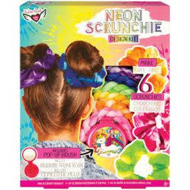 Fashion Angels: Neon Scrunchies Design Kit