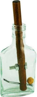 PROJECT GENIUS:  TRUE GENIUS GRECIAN GLASS BOTTLE PUZZLE