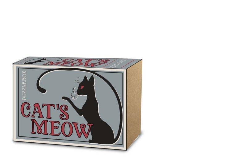 PROJECT GENIUS: CAT'S MEOW PUZZLE BOX