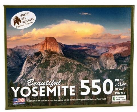 EDUCATION OUTDOORS:  YOSEMITE PUZZLE - Frank Ruggles Collection 550 piece