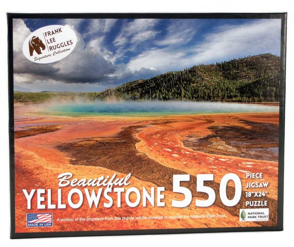EDUCATION OUTDOORS:  YELLOWSTONE PUZZLE - Frank Ruggles Collection 550 piece