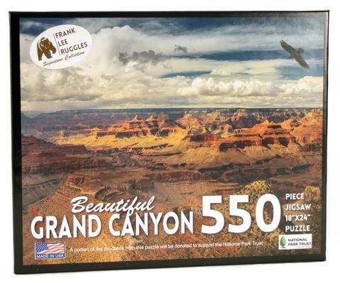 EDUCATION OUTDOORS:  GRAND CANYON PUZZLE - Frank Ruggles Collection 550 piece