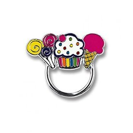CHARM IT:  SWEETS CHARM CATCHER PIN