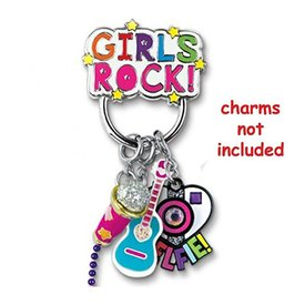 CHARM IT:  GIRLS ROCK CHARM CATCHER PIN
