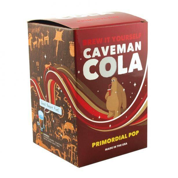 BREW IT YOURSELF: CAVEMAN COLA