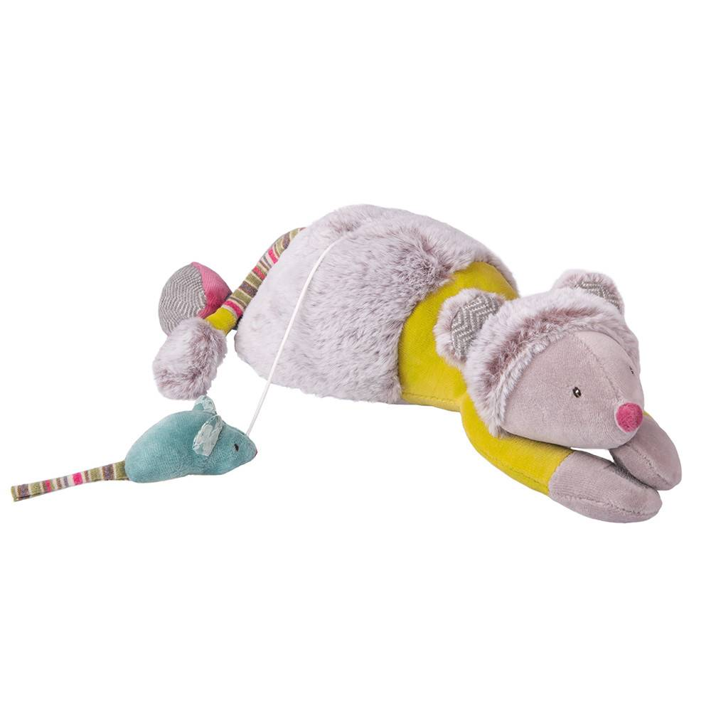 MOULIN ROTY: Musical Cat and Mouse Doll