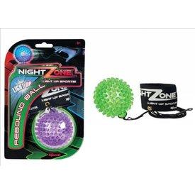 NIGHTZONE REBOUND BALL (BLUE, PURPLE, OR GREEN ASSORTED)