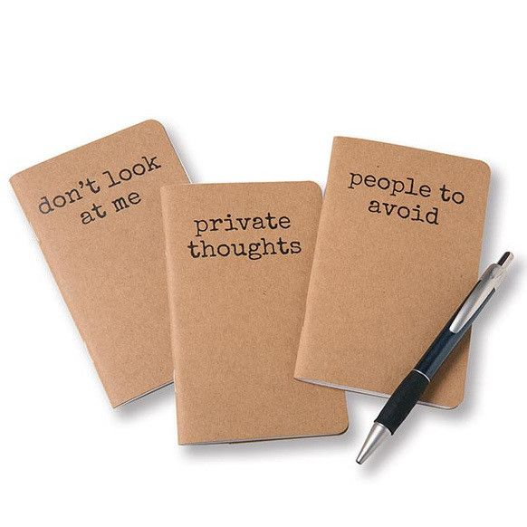 ACCOUTREMENTS INTROVERT NOTEBOOKS