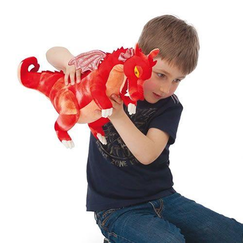 TRUDI: Dragon red