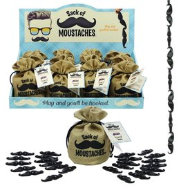 GETTA 1 GAMES LLC SACK OF MOUSTACHES