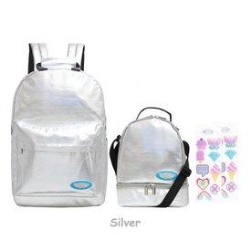 AMERICAN JEWEL AMERICAN JEWEL:  Rockin Candy Backpack-Silver
