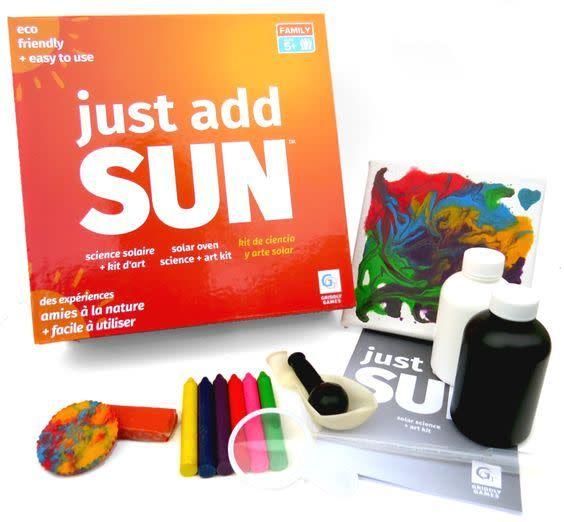 GRIDDLY GAMES:  JUST ADD SUN