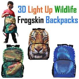 American Jewel: 3D Light up Backpack- TIGER