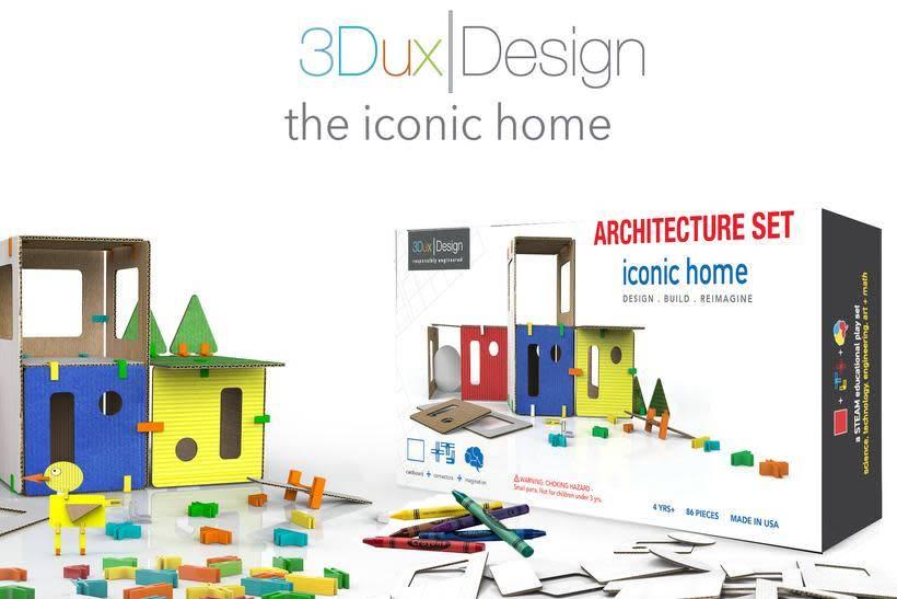 3DUX 3DUX DESIGN:  ARCHITECTURE SET - ICONIC HOME