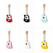 LOOG LOOG  MINI GUITAR: PINK