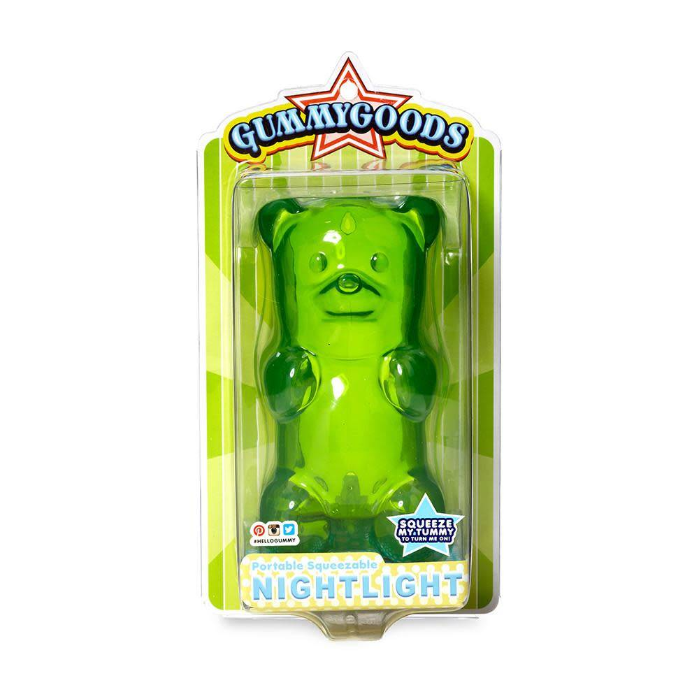 FCTRY FCTRY:  Gummygoods Gummy Bear Nightlight - Green