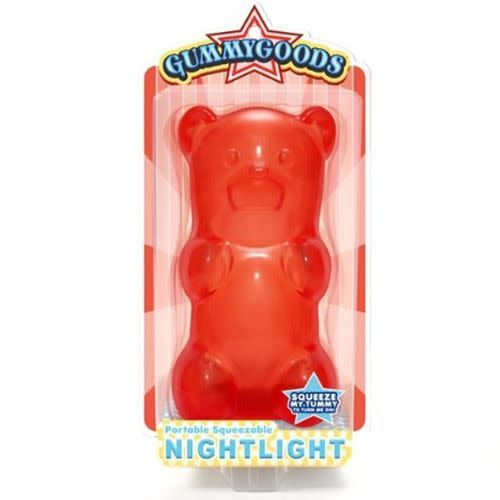 FCTRY FCTRY:  Gummygoods Gummy Bear Nightlight - RED