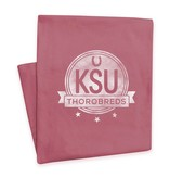 MV SPORTS KSU Circle Blanket