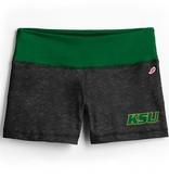 League Boy Short KSU Green White Waistband
