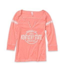 Hailey Henley 3/4 sleeve T-Shirt