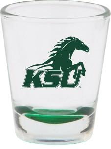 RFSJ Shot Glass Green Bottom