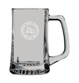 LXG. INC Glass Mug with handle KSU Seal
