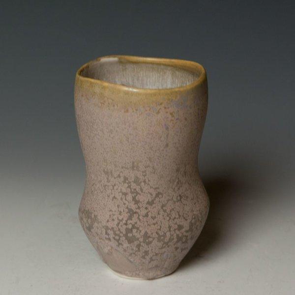 """Gwendolyn Yoppolo Gwendolyn Yoppolo, Tumbler, porcelain, crystalline glaze, 5.5 x 3 x 3"""""""