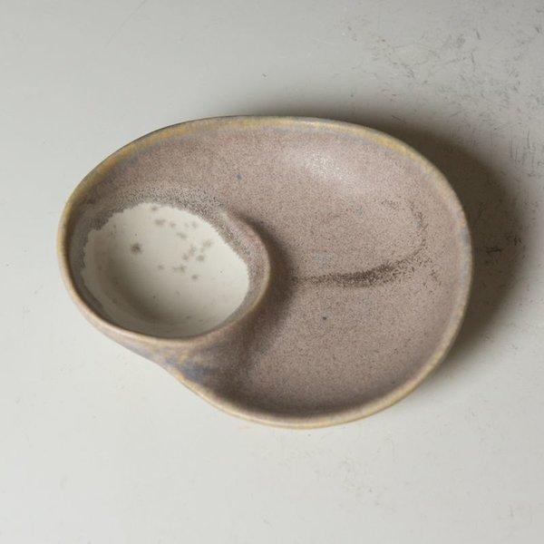 """Gwendolyn Yoppolo Gwendolyn Yoppolo, Small Dish, porcelain, crystalline glaze, 1 x 5 x 4"""""""