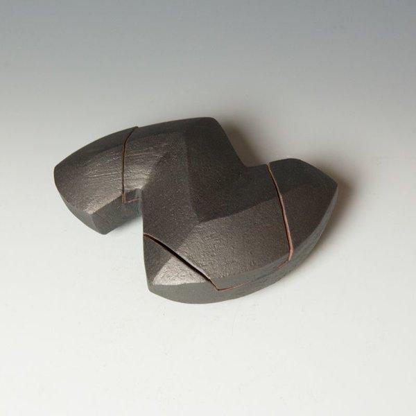 "Jerilyn Virden Jerilyn Virden, Box, handbuilt earthenware, 3 x 8 x 6"""