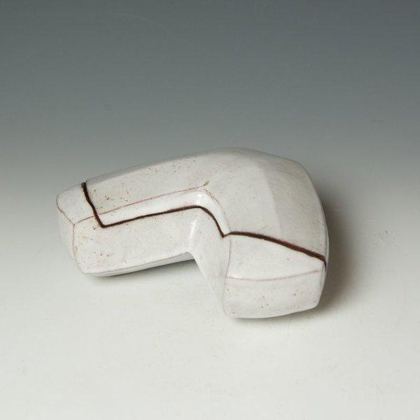 "Jerilyn Virden Jerilyn Virden, Box, handbuilt earthenware, 3 x 8.25 x 6"""
