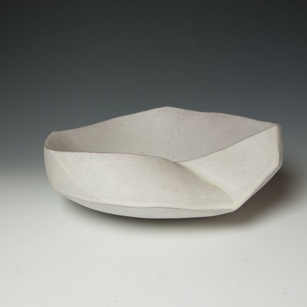 """Jerilyn Virden Jerilyn Virden, Hollow Gesture, handbuilt earthenware, 5 x 14 x 15"""""""