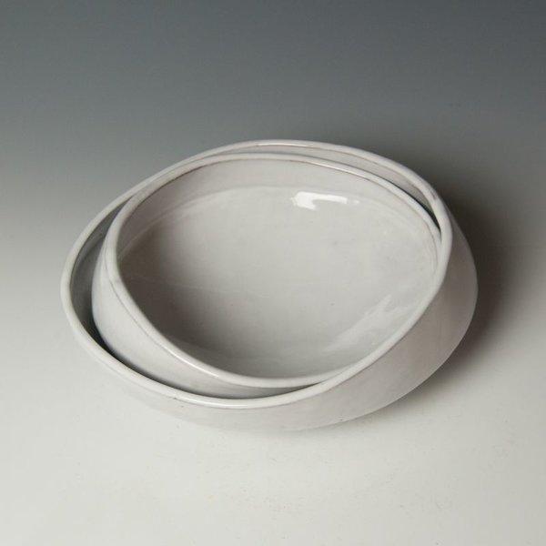 """Jerilyn Virden Jerilyn Virden, Satellite Bowl, handbuilt earthenware, 4 x 10.5 x 9"""""""