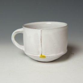 "Jerilyn Virden Jerilyn Virden, Cup, handbuilt earthenware, 3 x 6"""