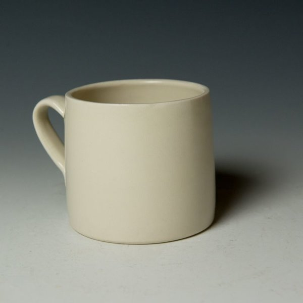 """Stephanie Wilhelm Stephanie Wilhelm, Poodle Mug, porcelain, gold luster, 3.5 x 3.5"""""""